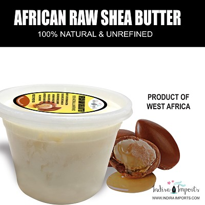 African Shea Butter  White