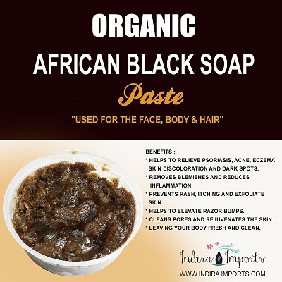 Organic African Black Soap Paste